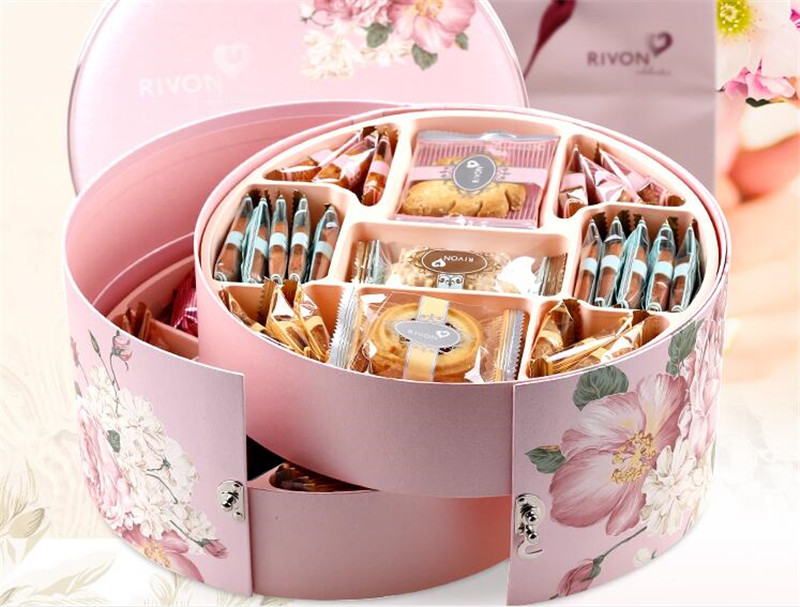 饼干的首饰盒春节礼品3