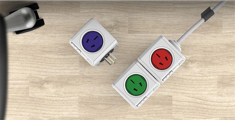 2014红点设计奖魔方插座创意产品设计3