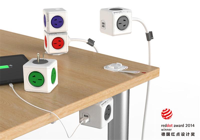 2014红点设计奖魔方插座创意产品设计1