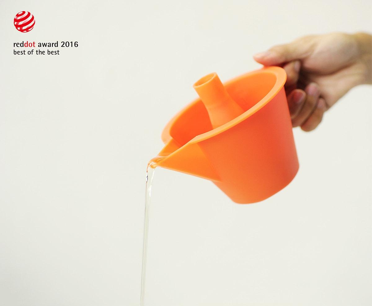 红点设计大奖:创意产品双用漏斗2