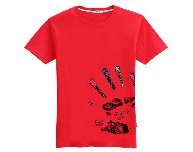 个性手掌创意t恤 3