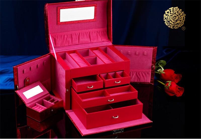 生日结婚礼物实用高档首饰盒摆件3