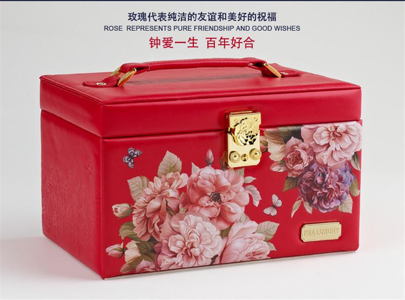 生日结婚礼物实用高档首饰盒摆件6