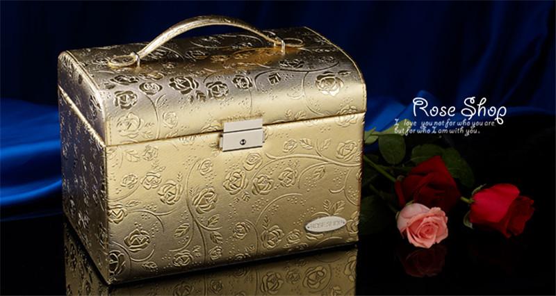 生日结婚礼物实用高档首饰盒摆件4