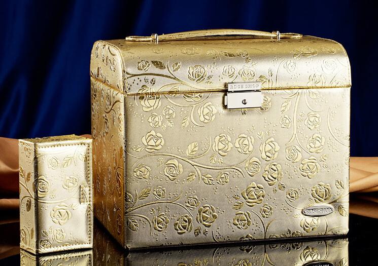 生日结婚礼物实用高档首饰盒摆件1
