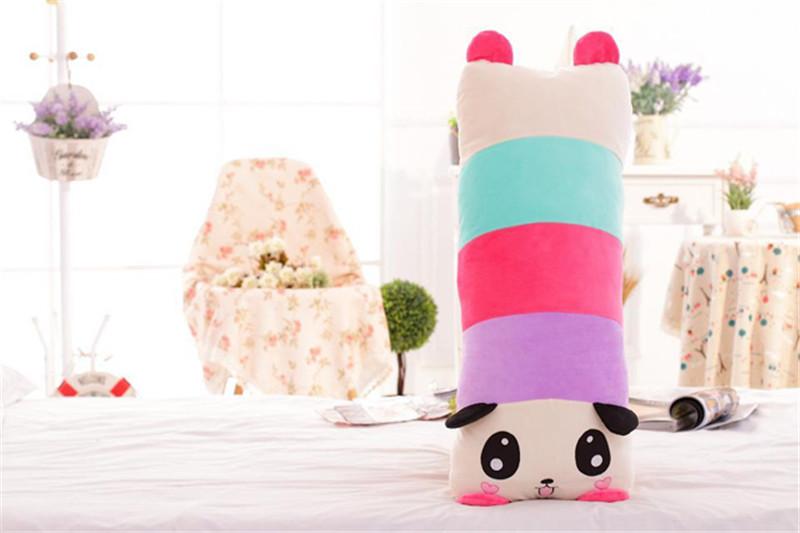 卡通趴趴熊猫长抱枕2
