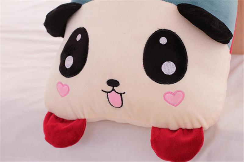 卡通趴趴熊猫长抱枕4