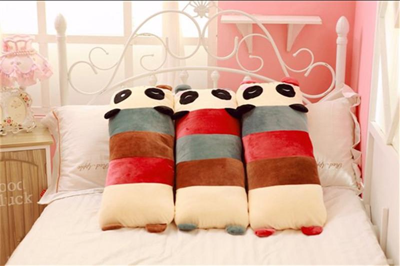 卡通趴趴熊猫长抱枕8