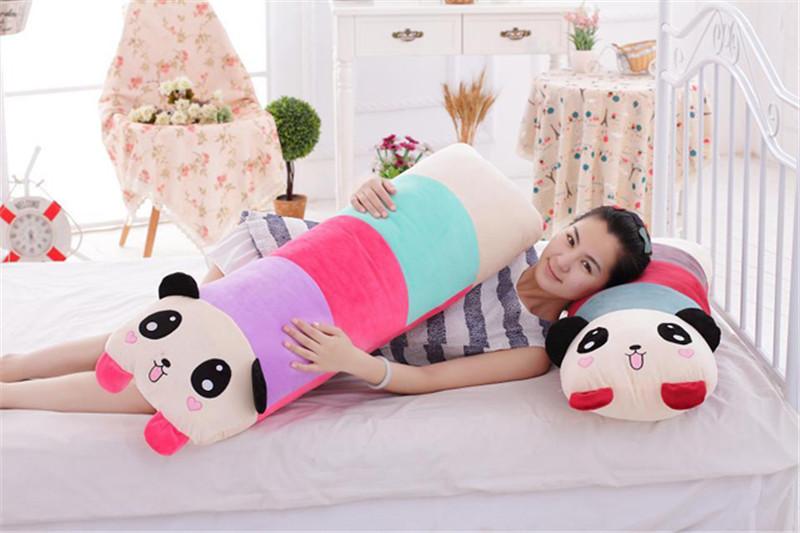 卡通趴趴熊猫长抱枕7