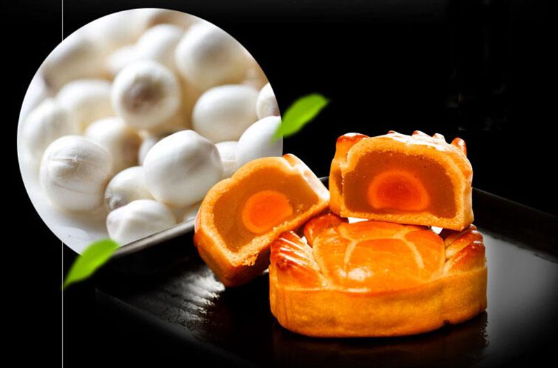 红豆沙莲蓉蛋黄大闸蟹月饼3