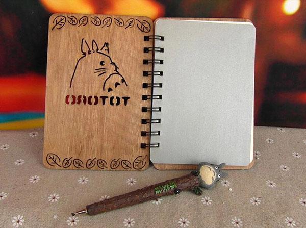 木質筆記本工藝品擺件4
