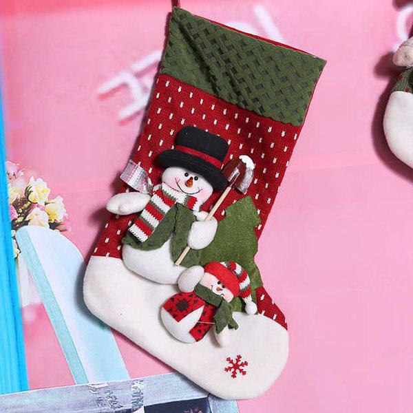 圣诞袜礼品袋3