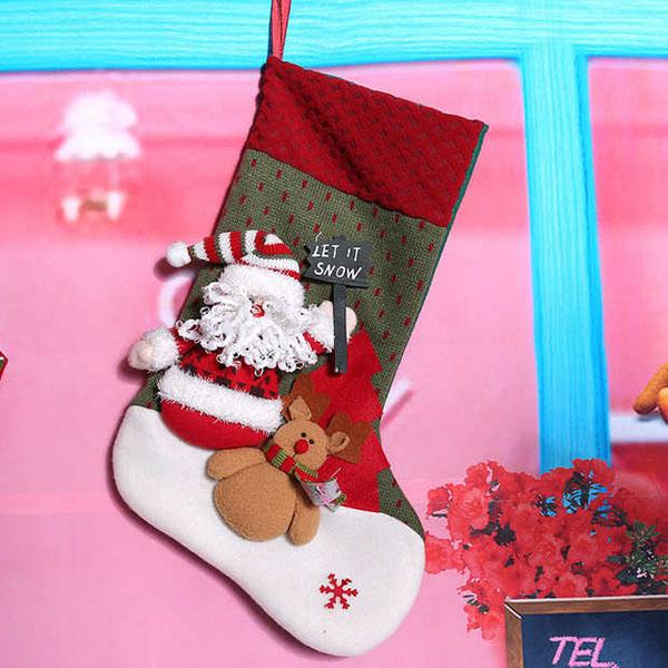 圣诞袜礼品袋1