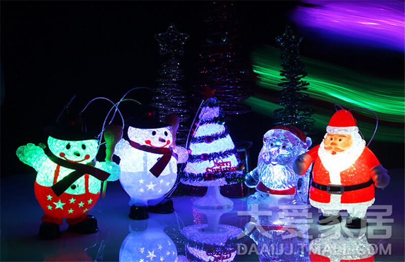 圣诞节礼品 圣诞老人灯1
