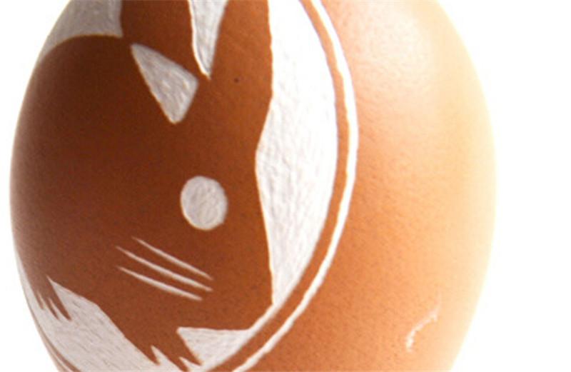 蛋雕手工生肖兔子4