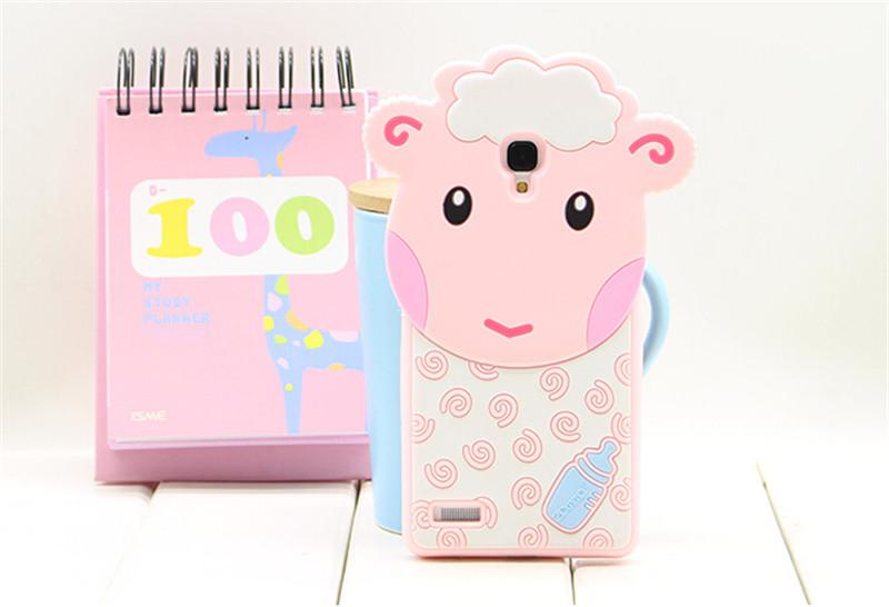 粉色开心猪手机外壳3