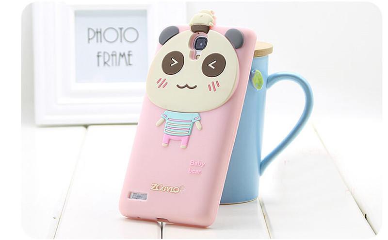 粉色开心猪手机外壳2