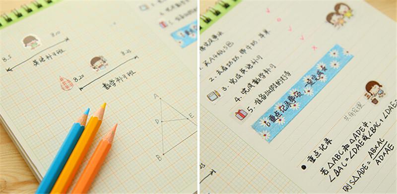 2016年韩国商务办公台历定制4