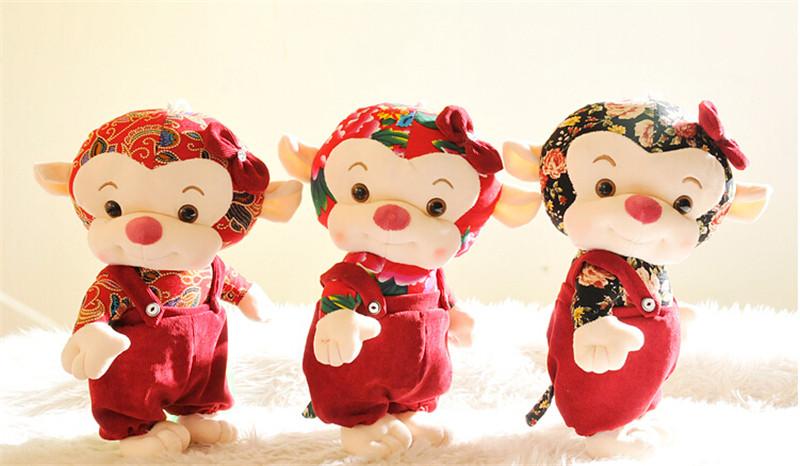 创意猴年吉祥物公仔新年年会活动礼品1