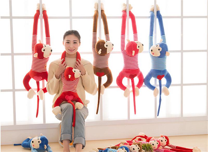 长臂趴趴猴子猴年吉祥物礼物