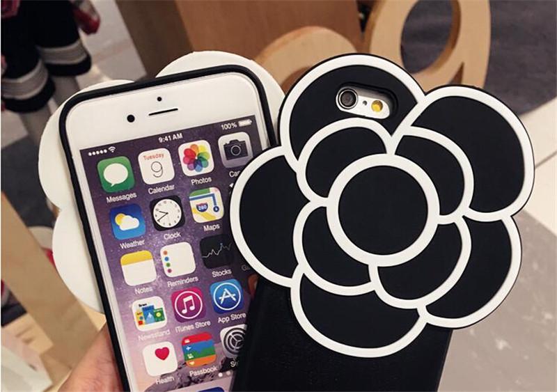 山茶花iPhone6S个性手机壳创意礼物3