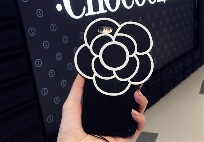 山茶花iPhone6S个性手机壳创意礼物2