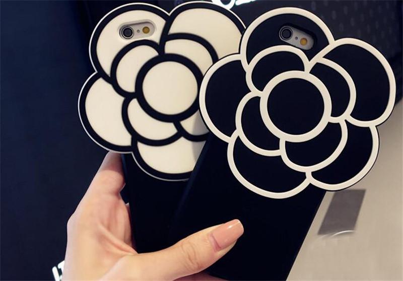 山茶花iPhone6S个性手机壳创意礼物1