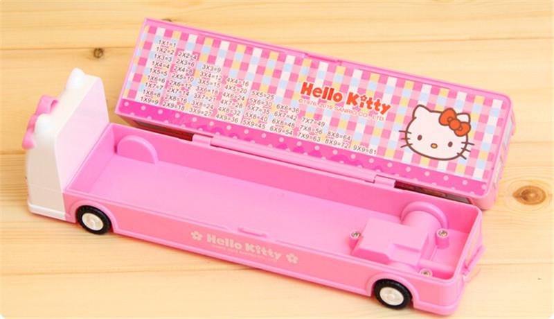 韩版火车头巴士文具盒2