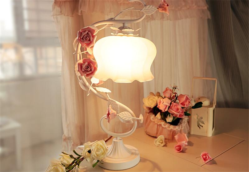 浪漫玫瑰花床头灯 2