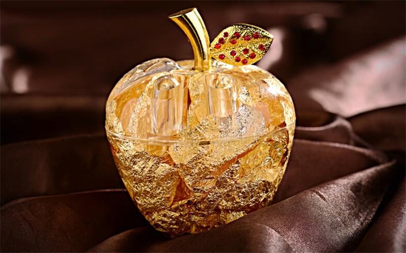 创意圣诞节礼物送女友女生金箔苹果4