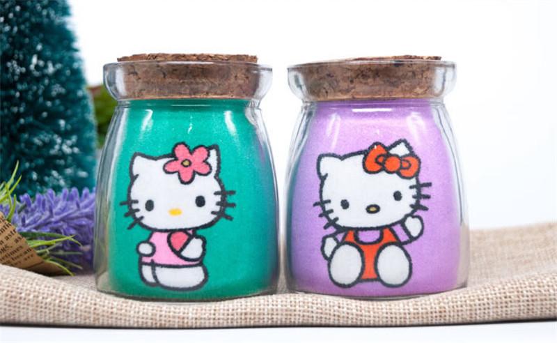 凯蒂猫沙画瓶创意新年春节礼品4