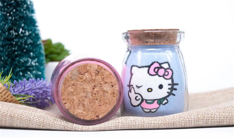 凯蒂猫沙画瓶创意新年春节礼品3