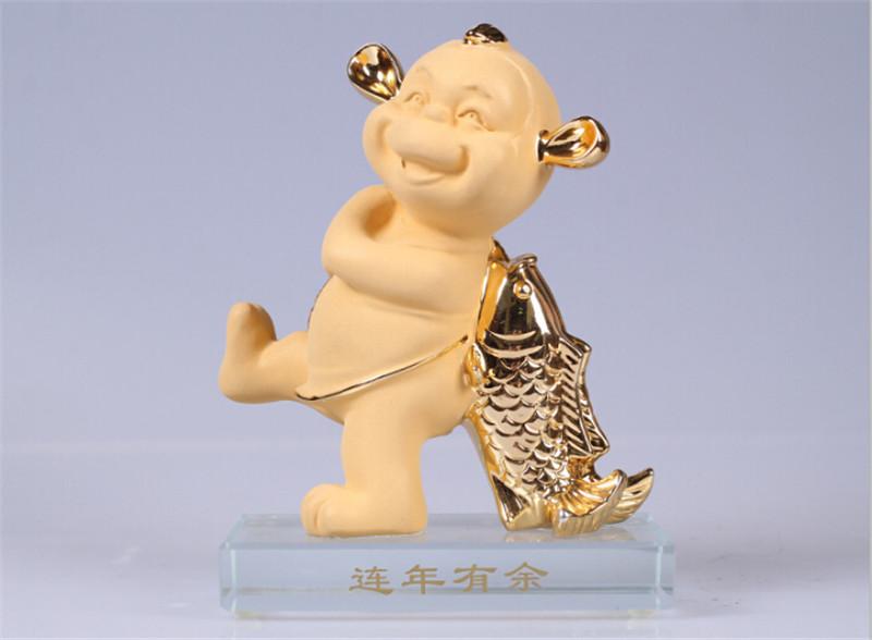 吉祥坊招财进宝猴年摆件春节礼品3