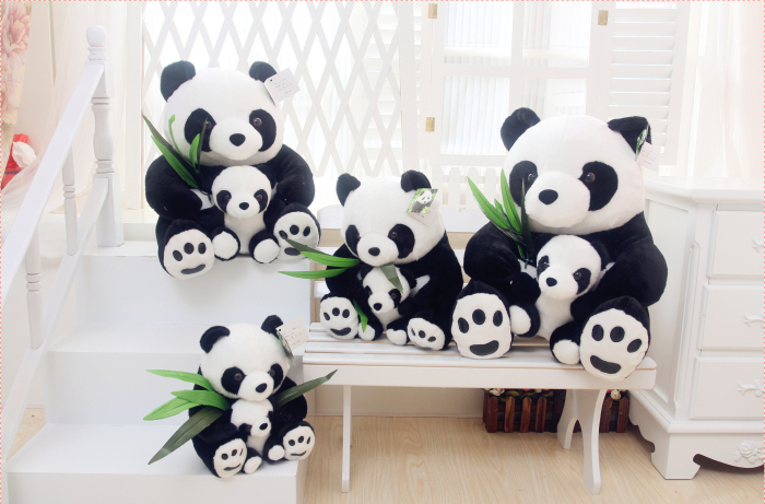 520礼物熊猫公仔
