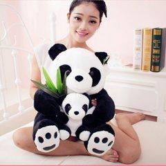 熊猫公仔毛绒玩具布偶抱枕抱抱熊