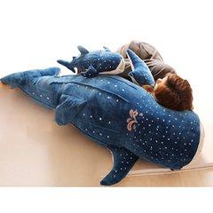 卡通鲸鲨毛绒玩具520礼物