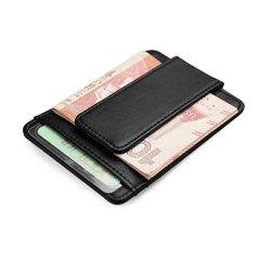 创意真皮磁性超薄钱夹驾驶证夹520礼物
