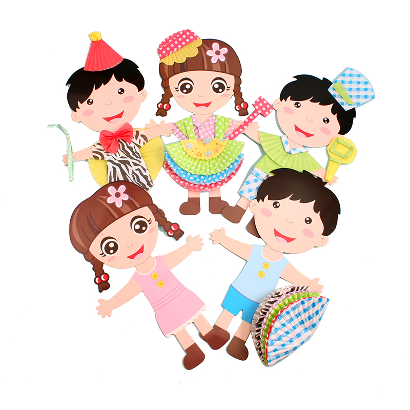 六一儿童节|DIY手工纸板服装设计