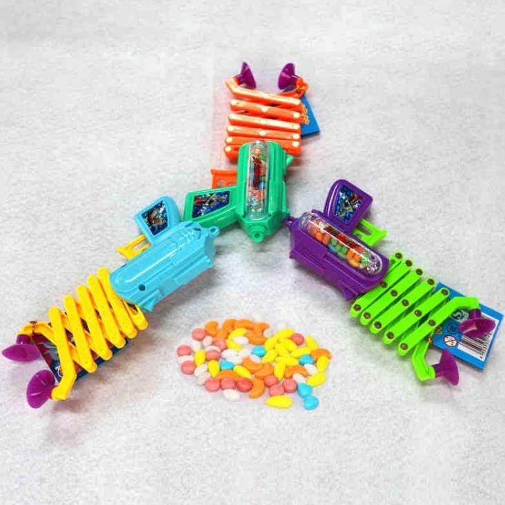 六一儿童节|奥特曼伸缩枪糖果个创意儿童玩具零
