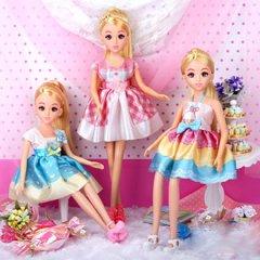 六一儿童节礼物|乐吉儿芭比娃娃公主换装大礼盒