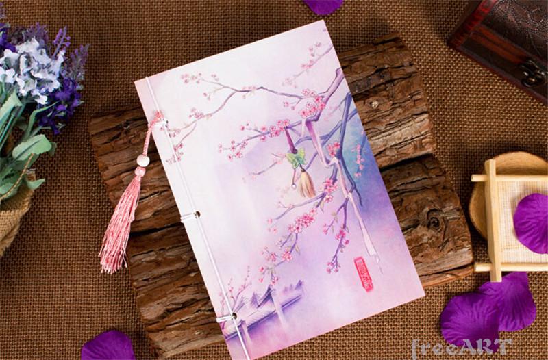原创文具中国风笔记本3