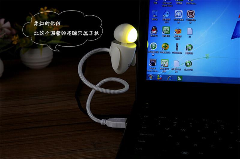 机器娃USB小夜灯2