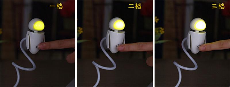 机器娃USB小夜灯6