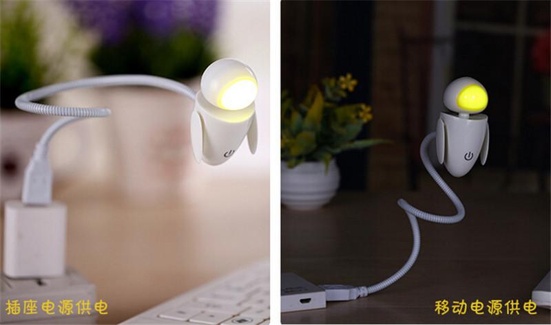 机器娃USB小夜灯7