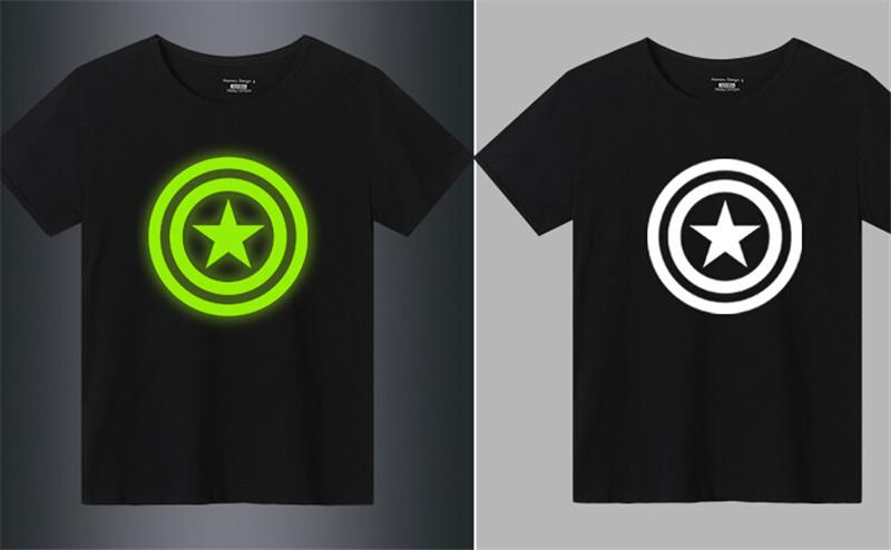 创意夜光荧光儿童t恤3
