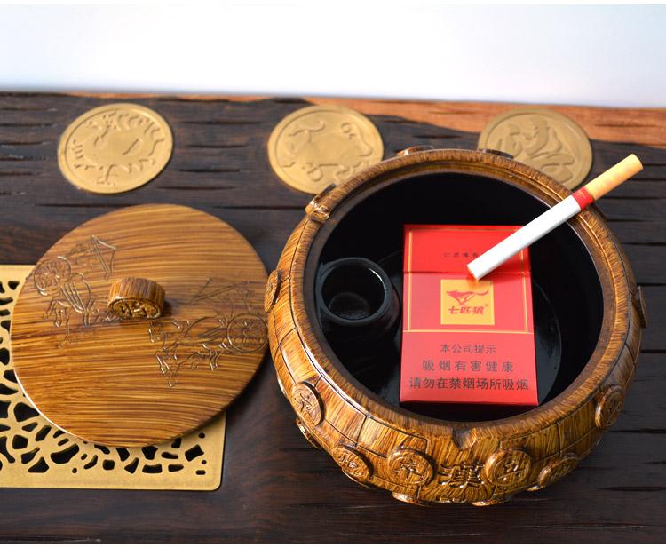 创意个性复古高档男士烟缸送人礼物3