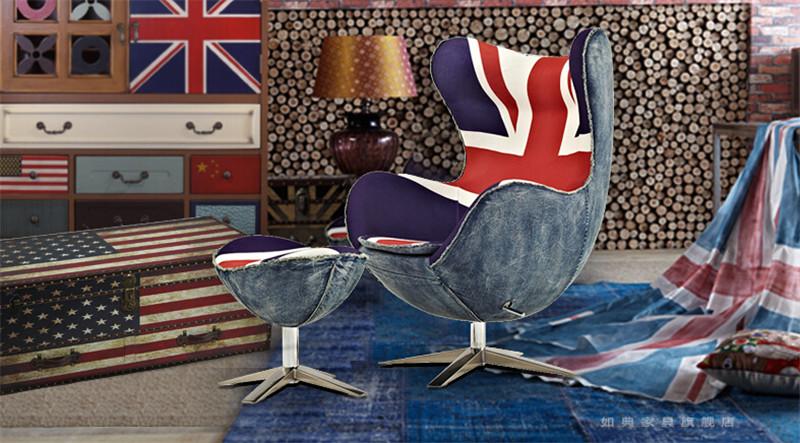 时尚创意鸡蛋椅 休闲椅1