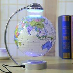 毕业季|创意发光自转磁悬浮地球仪
