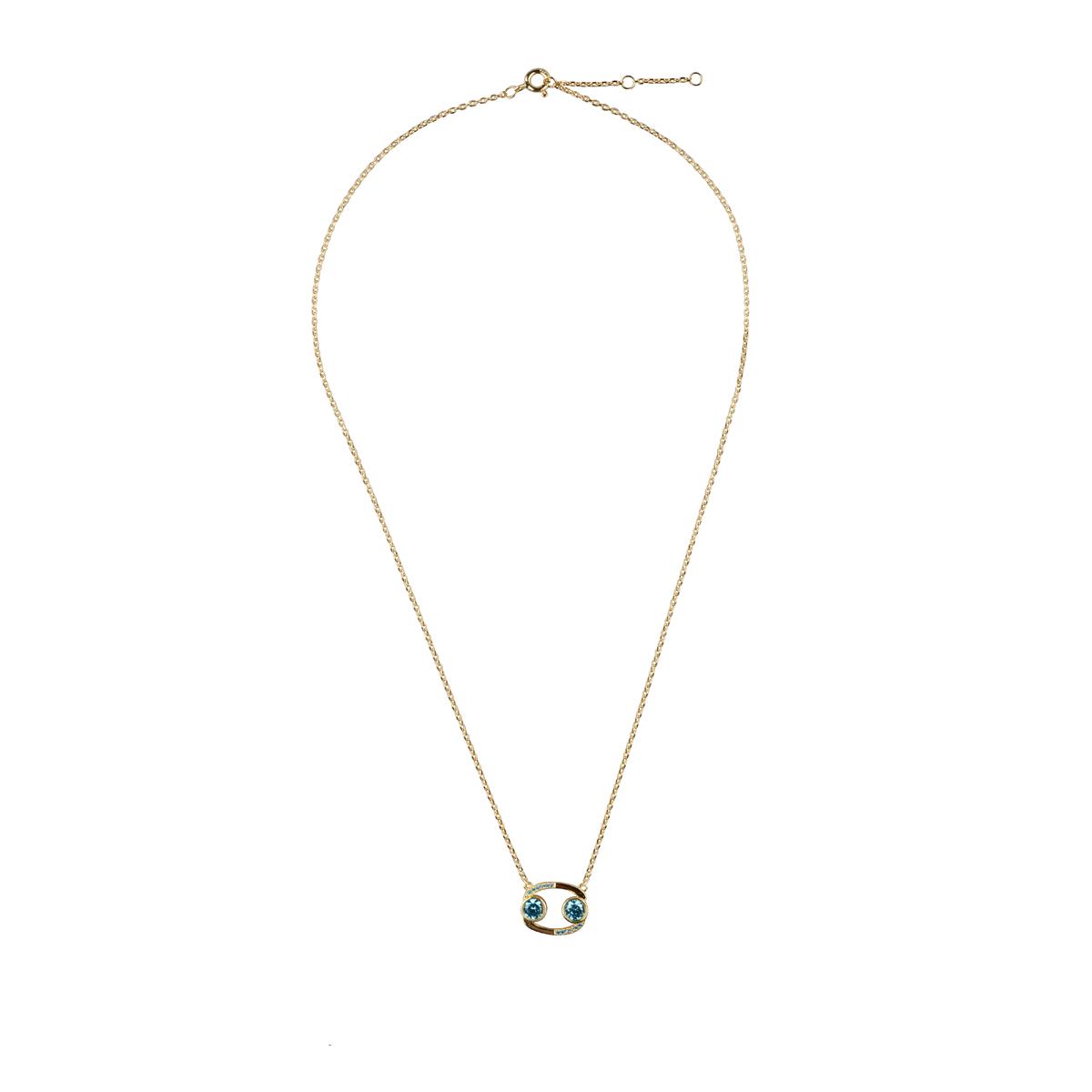 巨蟹座创意设计锁骨链