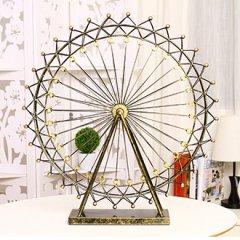 欧式复古铁艺摩天轮创意结婚礼物饰品